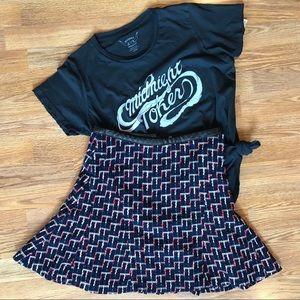 NWOT Twead Flutter Skirt